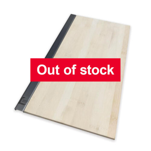 Out of stock - SpaceGrill bamboo side table