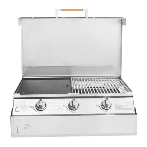 Outdoor gas bbq SpaceGrill